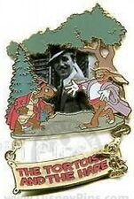 Disney Pin: Award Winning Performance Tortoise and the Hare (LE)