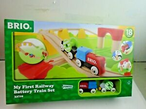 Brio #33727 My First Railway Battery 25 Piece Train Set