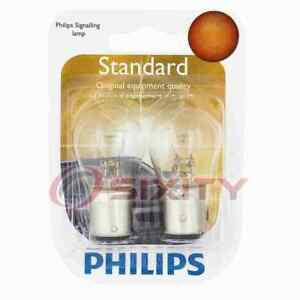 Philips Rear Turn Signal Light Bulb for AM General Hummer 1992-2001 ly