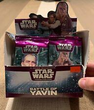 STAR WARS 15 Battle of Yavin 11- Card Booster Packs