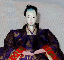 "Antique Japanese 4"" Dari-Bina Prince Male Hina Doll BH6 #AD4161415.8"