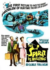 The Spirit Is Willing [New DVD] Colorized, Widescreen