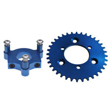 """Cnc Blue 44T Sprocket With 1.5"""" Adapter Fits 60cc/66cc/80cc Motorized Bicycle"""