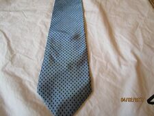 Joseph & Lyman Bloomingdale's  Blue Silk Neck Tie