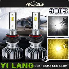 White Yellow 9145 9140 LED Fog Light Bulbs for Ford F150 04-17 F250 F35011-15
