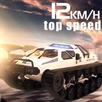 1/12 2.4G Drift RC Tank Car Full Propotional Control Vehicle Model Toy Xmas Gift