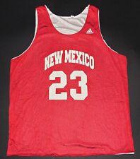 New Mexico Lobos University College Basketball Vtg Adidas Jersey Shirt