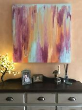 Artist Large (up to 60in.) Pink Art