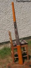 "59""150cm DIDGERIDOO+Bag+Beeswax Mouthpiece * Teak Wood GECKO Artwork Dot-Paint"