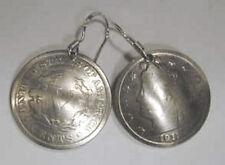 Coin earrings~Antique V Nickel earrings