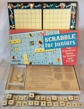 Collectable Vintage Scrabble For Juniors Board Game By Spears Games 1973 Edition