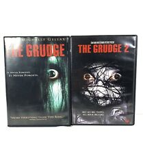 The Grudge DVD Lot Movies 1 & 2 Sara Michelle Cellar Horror.