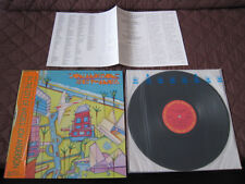Jon Anderson In The City of Angels Japan Promo Label Vinyl LP w OBI Yes