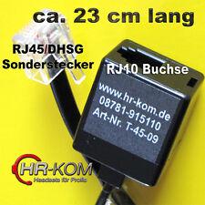 Kabel  Adapter DHSG Headset JABRA GN Netcom Sennheiser 502704