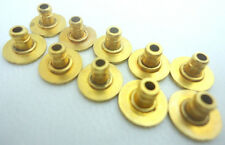 Lot 5 Pair Jewelry Accessory Earrings Back Findings Post Stoppers Gold Tone