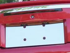 FITS FORD MUSTANG 1999-2004 STAINLESS STEEL CHROME LICENSE PLATE TRIM