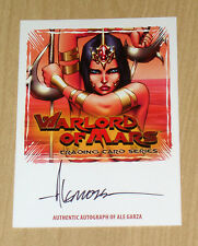 2012 Breygent SDCC Warlord of Mars on-card autograph Ale Garza