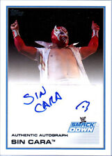 WWE Sin Cara 2013 Topps Triple Threat Authentic Autograph Card