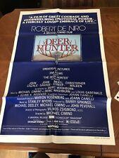"Robert DeNiro, Christopher Walken, Meryl Streep - ""The Deer Hunter"" /1978 poster"