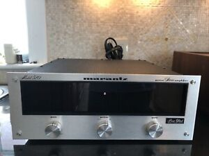 Mint Rare Marantz Model 510 Amplifier Owner's Manual Perfect Working Condition