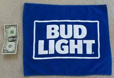 new Anheuser Busch Bud Light Blue Rally Towel ab bl nhl nfl sweat rag tailgate