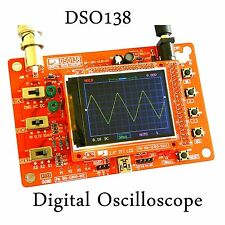 "DSO138 2.4"" TFT Digital osciloscopio Oscilloscope Kits parts ( 1Msps ) w probe"