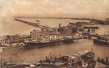 POSTCARD   KENT   DOVER   Harbour  View  from  64  Steps