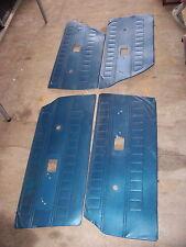 1968 DODGE CORONET STATION WAGON BLUE DOOR PANELS OEM