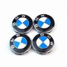 4x Cache Moyeu Jante Logo insigne BMW 68mm Centre De Roue Neuf