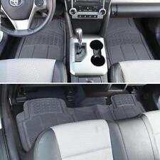 Rubber Car Floor Mats for Toyota RAV4 - Floor Protector All Weather GRAY (3 PC)