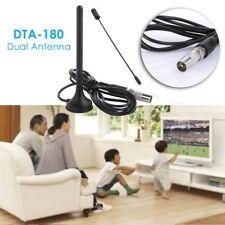 Simple Indoor Gain 30dBi Digital DVB-T/FM Freeview Aerial Antenna PC for HDTV TV