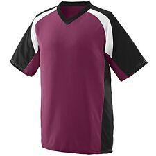 Augusta Sportswear MEN'S NITRO JERSEY S Maroon/Black/White