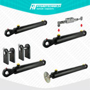 Hydraulikzylinder doppeltwirkend DW Zylinder Hub von 90 bis 900 mm