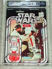 Vintage Star Wars 1979 AFA 75/80/85 R5-D4 ANH 21 Back-A Card MOC CLEAR BUBBLE!