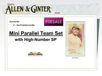 TAMPA BAY RAYS 2020 Topps Allen & Ginter MINI Parallel TEAM SET w/SP (6) Canseco