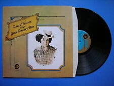 Connie Francis Sings Great Country Hits, MGM ACB-00143 Ex+ A1/B1 Press Vinyl LP