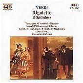 Verdi: Rigoletto (highlights), , Very Good CD