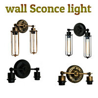 Retro Vintage Wall Mounted Light Fixture Rustic Sconce Lamps Modern Industrial