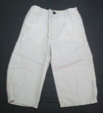 3b5213d243f BOYS JANIE AND JACK RAINFOREST FORAY BEIGE LINEN DRESS PANTS SIZE 18-24  MONTHS