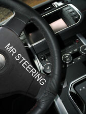 BLACK LEATHER STEERING WHEEL COVER FOR LEXUS GS MK3 2005-2011 DOUBLE STITCHING