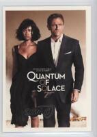 James Bond Archives 2009 Quotable Quantum Of Solace Chase Card Q10