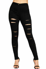 Leggings Regular Ripped Pants for Women