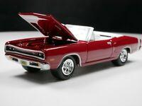 1969 Dodge Coronet R/T 440 1/64 Diecast Diorama Car Convertible American Muscle
