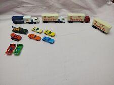 Lot of Vintage Model Cars Train Railway HO Scale