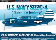 Échelle 1:72 ACA12545-academy-SB2C-4 usn operation iceberg