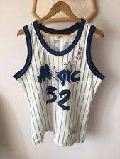 ORLANDO MAGIC BASKETBALL JERSEY NBA SHAQUILLE ONEAL #32 CHAMPION ORIGINAL RARE