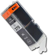 1 X IGP 270 XL Negro Cartuchos de tinta para Canon Pixma MG6821 MG6822 MG7720 TS5020