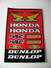 New Honda Decals Sticker Kit Cr Crf Xr Mtx Cbr Nsr Nx
