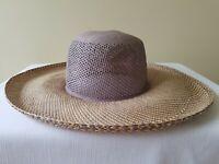 Women's Straw Panama Hat - Hand Woven in Ecuador