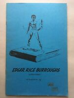EDGAR RICE BURROUGHS Bibliography by Bradford Day / Science Fiction Fantasy 1962